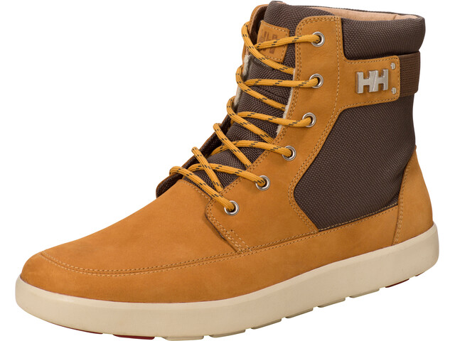 Helly Hansen M's Stockholm Boots New Wheat/Bungee Cord/Sunflower/Natura/Oxide Red
